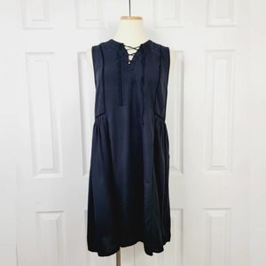 Old Navy Lace Up Swing Dress